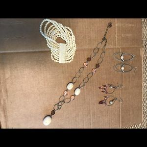 Necklace/Earring/Cuff Set